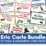 Distance Learning: 10 Sets Yoga & Movement Cards of Eric C