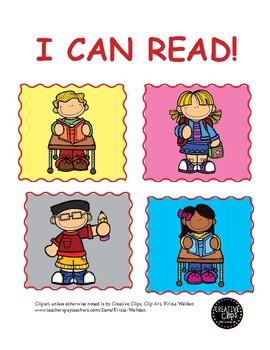10 Short Stories for Kindergartners (Fry List-Level 1)