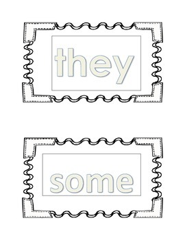 10 Short Vowel Words and 10 Sight Words Read and Trace Book