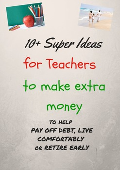 10+ super ideas for teachers to make extra money