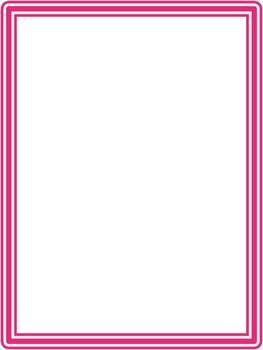 10 Simple Three Lined Borders - FREE