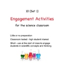 10 Simple Yet Great Short Science Engagement Activities