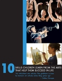 10 Skills Children Learn From the Arts
