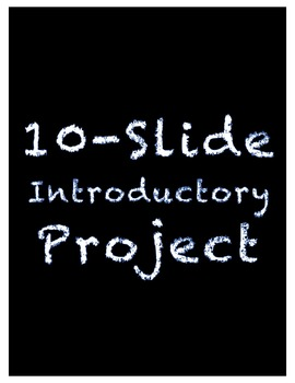 10-Slide Introductory Video Slideshow Project for Video Productions Students