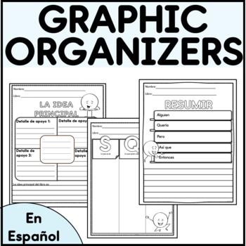10 Spanish Graphic Organizers