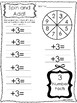 10 Spin and Add Printable Worksheets in PDF file. Prek-1st Grade Math
