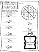 10 Spin and Subtract Printable Worksheets in PDF file. PreK-2nd Grade Math