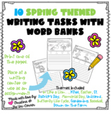 10 Spring Themed Writing Tasks With Word Banks
