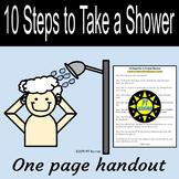 10 Steps to Taking a Proper Shower