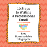 10 Steps to Writing a Professional Email - Free Infographic