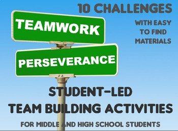 10 Student Led Team Building Challenges Build Perseverance W Simple