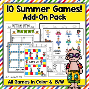 10 Summer Games! Great Practice for Any Skill!
