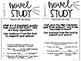 10 Task Cards for Novel Study (Focus: Plot, Character, Setting) Growing Bundle