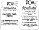 10 Task Cards for Novel Study (Focus: Point of View) Growing Bundle
