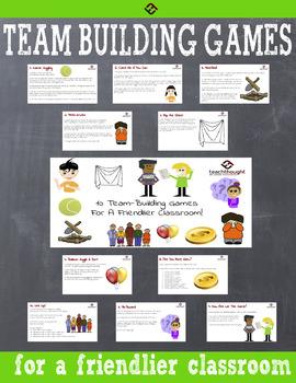 10 Team-Building Games For A Friendlier Classroom