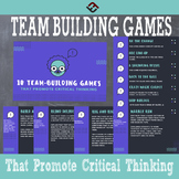 10 Team-Building Games That Promote Critical Thinking