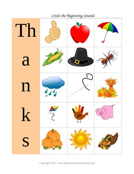 Kindergarten Thanksgiving: 6 Thanksgiving Activities