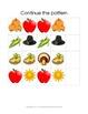 Kindergarten Worksheets- Thanksgiving Activities
