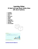 10 Themed Learning Cubes