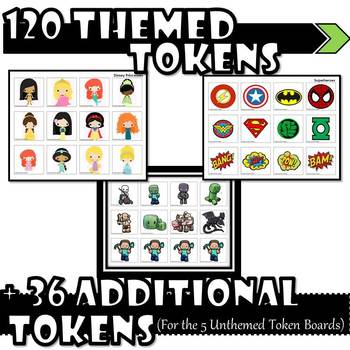 10 Themed Token Boards (+5 Unthemed!)