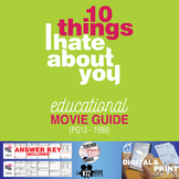 10 Things I Hate About You Movie Guide | Questions | Worksheet (PG13 - 1999)