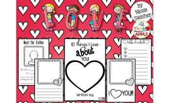 10 Things I Love About You!! Personalized Book with TONS o