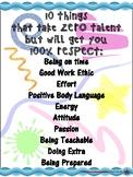 10 Things That Take ZERO talent...