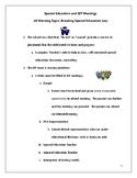 10 Things to Avoid at IEP Meetings