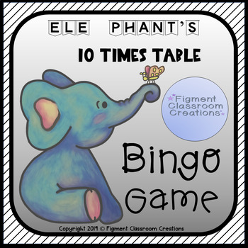 10 Times Table Bingo Game