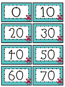 """""""10"""" Times Table Flash Cards"""