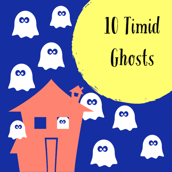 10 Timid Ghosts - DIY Felt Story and Sequencing Activity!