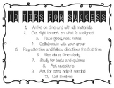 10 Tips for Success Classroom Poster