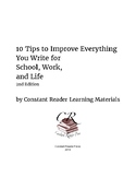 10 Tips to Improve Everything You Write for School, Work, and Life