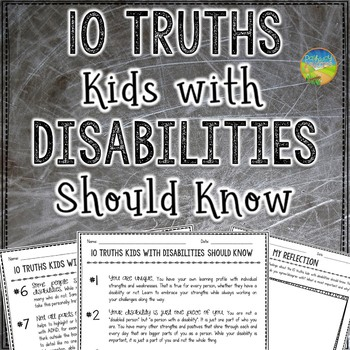 Truths Kids with Disabilities Should Know