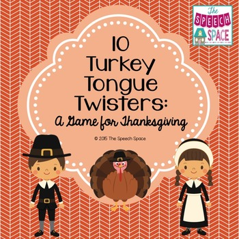 10 Turkey Tongue Twisters: A Game For Thanksgiving