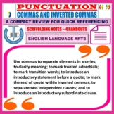 COMMA RULES AND USES HANDOUTS