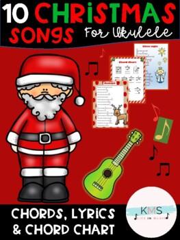 Ukulele Christmas Worksheets Teaching Resources Tpt