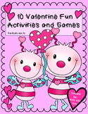 10 Valentine Fun Activities and Math Games
