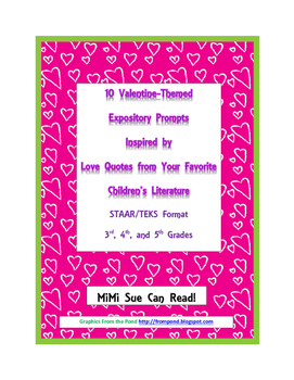 10 Valentine-Themed Expository Prompts Children's Literatu