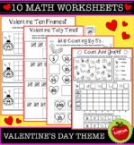 10 Valentine's Day Math Worksheets
