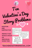 10 Valentine's Day Story Problems