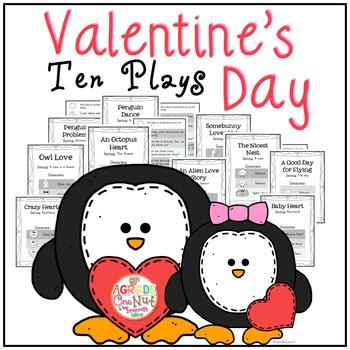 10 Valentine's Day Plays {Reader's Theater}