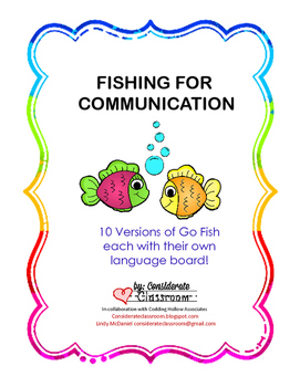 10 Versions of Go Fish (with aided language boards)
