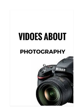 10 Videos about photography