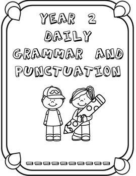 10 WEEK Grammar and Punctuation Workbook Year 2