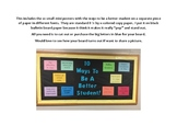 10 Ways to Be a Better Student Bulletin Board