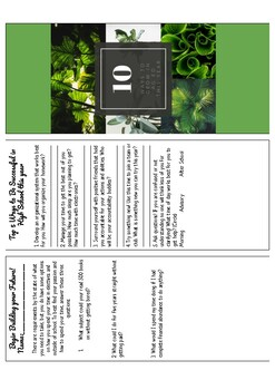 10 Ways to Grow in Ag Ed Pamphlet