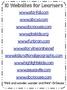 10 Websites for Student