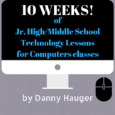 10 Week No Prep Course Jr. High Technology Computer Scienc