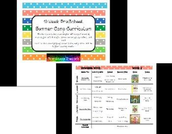 10 Week Preschool Summer Camp